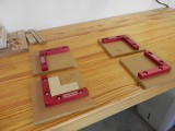 Woodpeckers clamping squares
