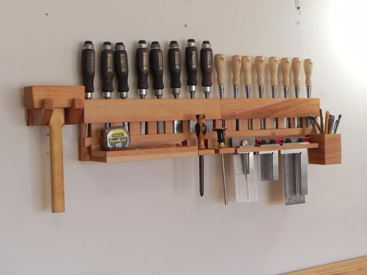 Chisel racks part deux | Dan's Hobbies