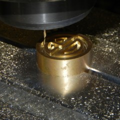 2 axis CNC milling