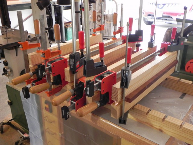 I need to buy some more clamps I think
