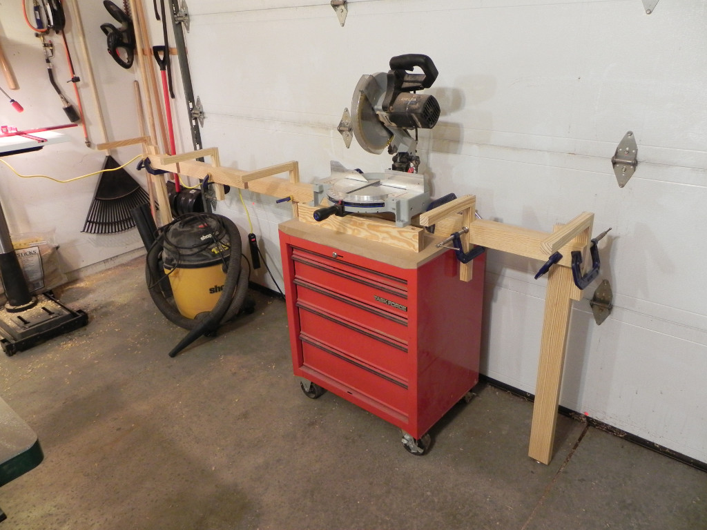 Diy Miter Saw Stand Dan 39 S Hobbies