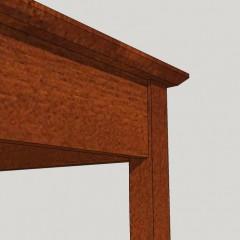 Top & leg detail